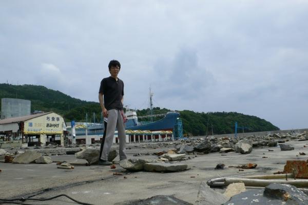 長友たかのり 東北大震災の災害ボランティア